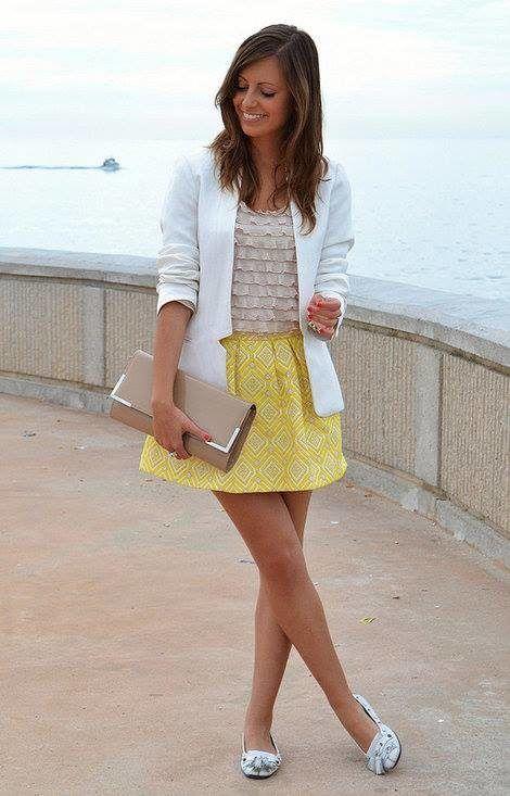 blazer feminino com saia 9 470x733 - Como usar BLAZER FEMININO com saia, calça