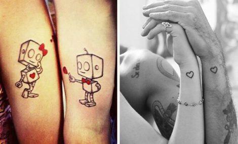 desenhos tatuagens dd casal 470x285 - TATUAGENS DE CASAL lindas que se completam