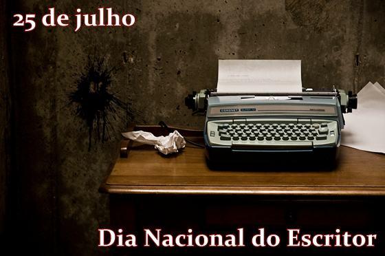 dia do escritor 25 de julho 2 - Dia do Escritor em 25 de julho confira