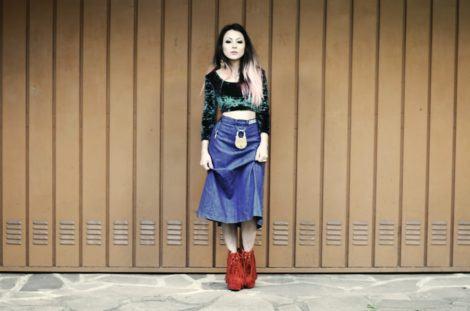 iamgem 12 470x311 - Botinha feminina com franja : Com saia, vestido e calça jeans (Veja como usar)
