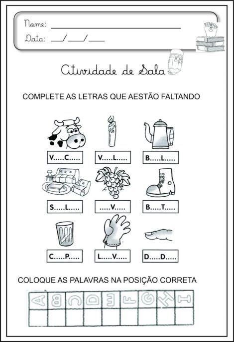 imagem 17 5 470x685 - Atividades de ALFABETIZAÇÃO COM VOGAIS - aprenda as letras