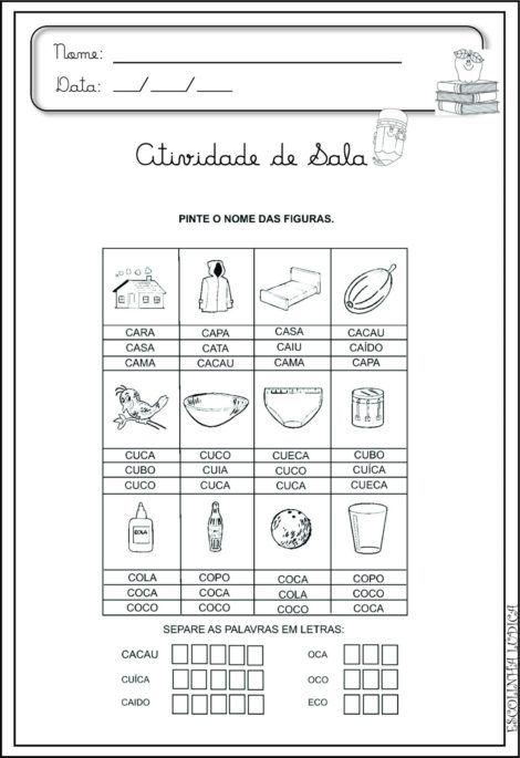 imagem 19 5 470x685 - Atividades de ALFABETIZAÇÃO COM VOGAIS - aprenda as letras