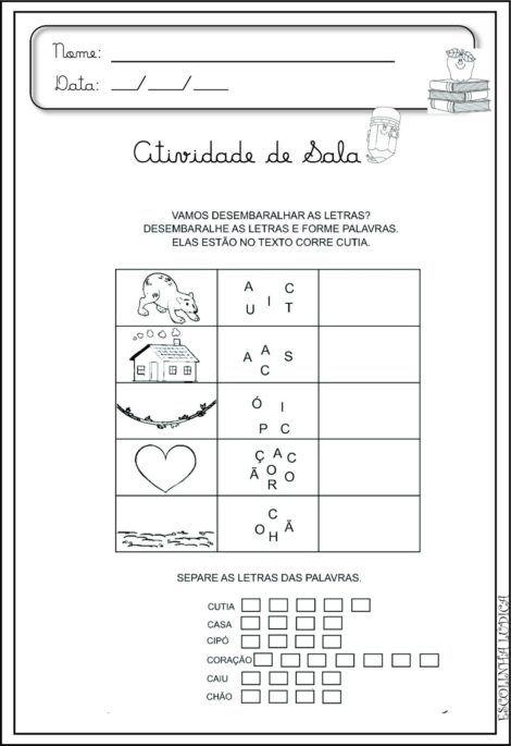 imagem 20 5 470x685 - Atividades de ALFABETIZAÇÃO COM VOGAIS - aprenda as letras