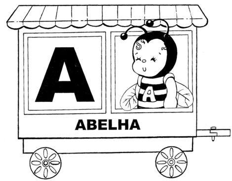 imagem 25 3 470x368 - Atividades de ALFABETIZAÇÃO COM VOGAIS - aprenda as letras