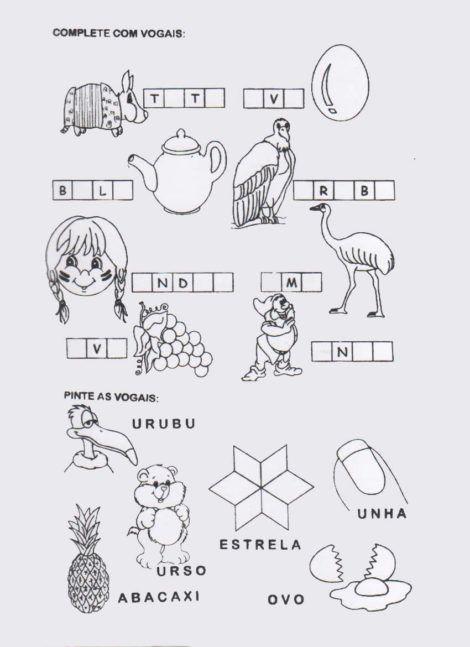 imagem 30 5 470x647 - Atividades de ALFABETIZAÇÃO COM VOGAIS - aprenda as letras