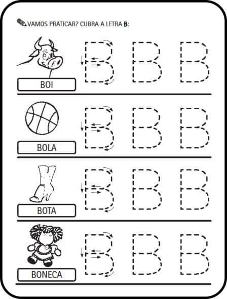 imagem 4 4 - Atividades letras do Alfabeto para colorir para aprendizado