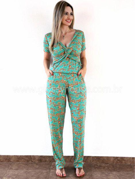 macacao feminino estampado 7 470x625 - Macacão feminino 2018 super na moda ( Veja os looks )