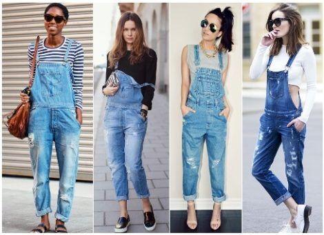 macacao feminino jeans 6 470x341 - Macacão feminino 2018 super na moda ( Veja os looks )