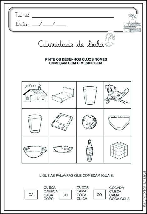 magem 21 470x685 - Atividades de ALFABETIZAÇÃO COM VOGAIS - aprenda as letras
