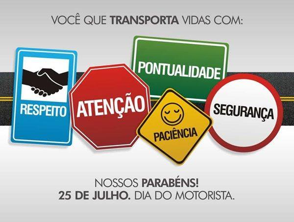 mensagens para dia do motorista brasil para facebook 2 - Dia do Motorista no Brasil 25 de julho padroeiro São Cristóvão