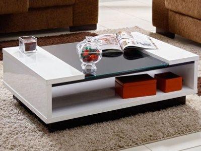 Modelos de mesa de centro modernas moda decor - Mesa de centro sala ...