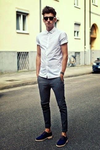 sapato camurca masculino com calca slim justa - Como usar SAPATO DE CAMURÇA MASCULINO: com calça e bermuda