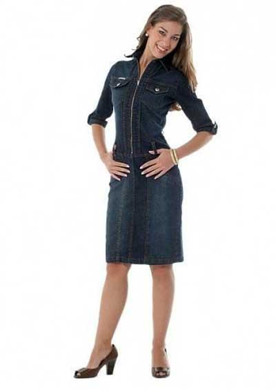 vestidos evangelicos jeans 1 - Como usar os VESTIDOS EVANGÉLICOS JEANS e esporte fino