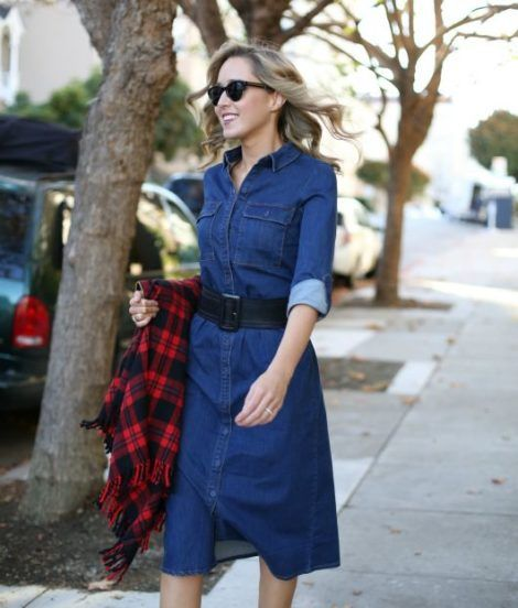 vestidos evangelicos jeans 8 470x552 - Como usar os VESTIDOS EVANGÉLICOS JEANS e esporte fino