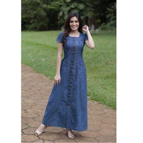 vestidos evangelicos jeans 9 470x470 - Como usar os VESTIDOS EVANGÉLICOS JEANS e esporte fino