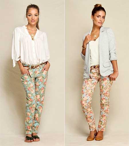 calcas femininas estempadas - CALÇA FEMININA ESTAMPADA de verão lindas e modernas