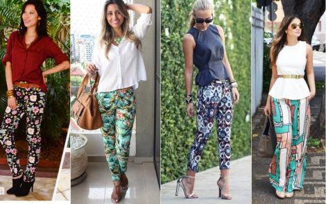 como usar calca estampada 470x294 - CALÇA FEMININA ESTAMPADA de verão lindas e modernas