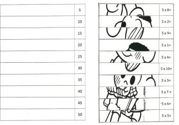 fotos de tabuada do 5 para imprimir 350x245 - Tabuada do 5 para imprimir colorir e estudar