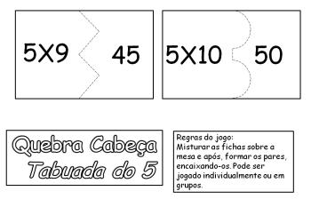melhores tabuada do 5 para imprimir 350x242 - Tabuada do 5 para imprimir colorir e estudar