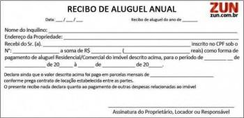 modelos de recibo de aluguel anual 350x170 - Modelos de Recibo de Aluguel para imprimir