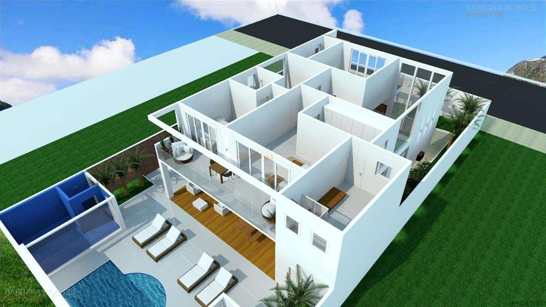 Modelos de planta sobrado 3 quartos terreno 5x25 moda for Modelos planos de casas para construir