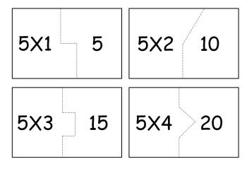 tabuada do 5 para imprimir 350x242 - Tabuada do 5 para imprimir colorir e estudar