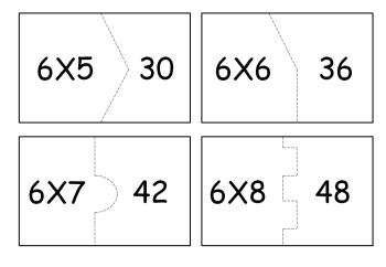 tipos de tabuada do 6 para imprimir 350x242 - Tabuada do 6 para imprimir confira e pegue