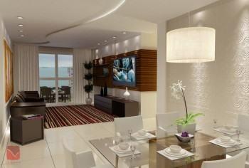 dicas de sala decorada de apartamento 350x236 - Sala decorada de apartamento veja como ter um ambiente agradável