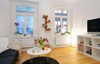 fotos de sala de apartamento pequeno decorado 350x226 - Sala decorada de apartamento veja como ter um ambiente agradável