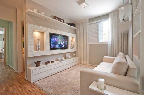 imagem 10 470x312 - Sala decorada de apartamento veja como ter um ambiente agradável