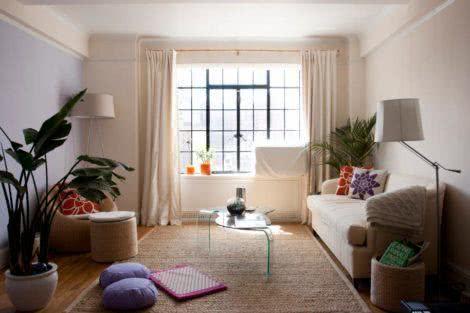 imagem 11 470x313 - Sala decorada de apartamento veja como ter um ambiente agradável