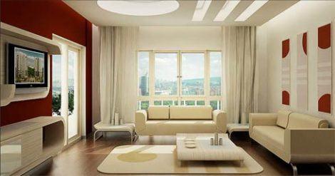 imagem 13 470x247 - Sala decorada de apartamento veja como ter um ambiente agradável