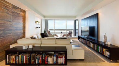 imagem 15 470x260 - Sala decorada de apartamento veja como ter um ambiente agradável