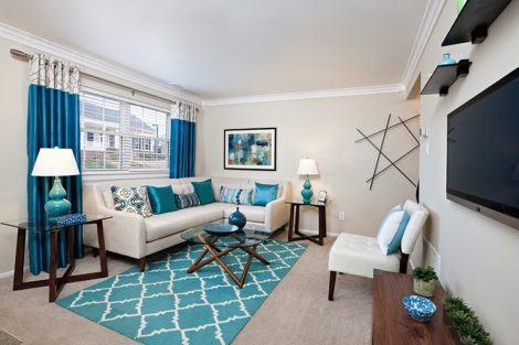imagem 17 470x313 - Sala decorada de apartamento veja como ter um ambiente agradável
