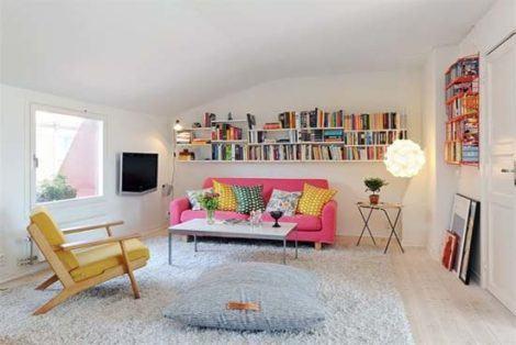 imagem 18 470x314 - Sala decorada de apartamento veja como ter um ambiente agradável