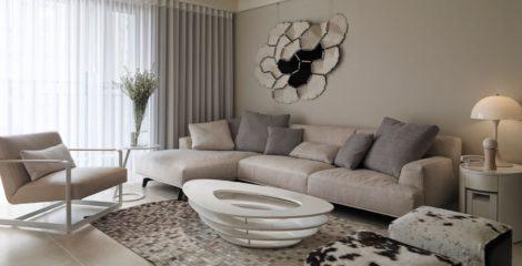 imagem 24 470x240 - Sala decorada de apartamento veja como ter um ambiente agradável