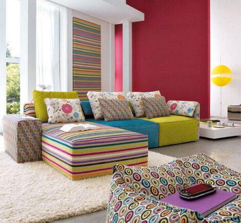 imagem 25 470x435 - Sala decorada de apartamento veja como ter um ambiente agradável