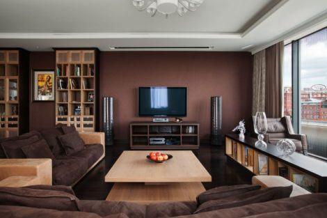 imagem 26 470x313 - Sala decorada de apartamento veja como ter um ambiente agradável