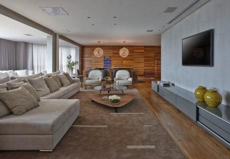 imagem 28 470x326 - Sala decorada de apartamento veja como ter um ambiente agradável