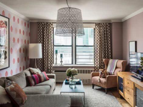 imagem 29 470x353 - Sala decorada de apartamento veja como ter um ambiente agradável