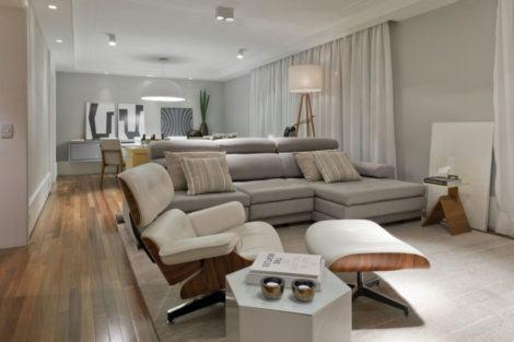 imagem 30 470x313 - Sala decorada de apartamento veja como ter um ambiente agradável