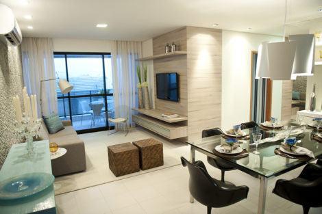 imagem 7 470x313 - Sala decorada de apartamento veja como ter um ambiente agradável