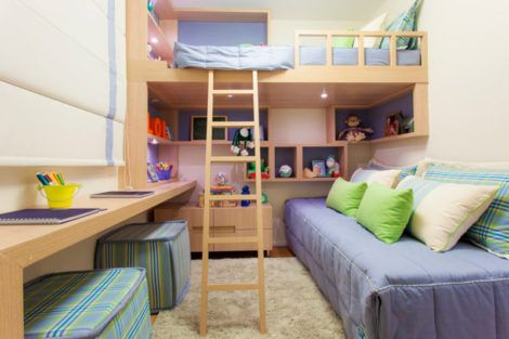 quarto para irmaos pequenos 3 470x313 - Quarto para IRMÃOS PEQUENOS estilos contemporâneos modernos