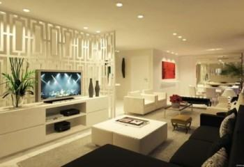 sala decorada de apartamento 350x240 - Sala decorada de apartamento veja como ter um ambiente agradável