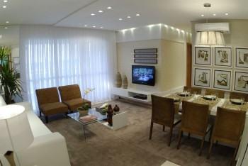 tipos de sala decorada de apartamento 350x234 - Sala decorada de apartamento veja como ter um ambiente agradável