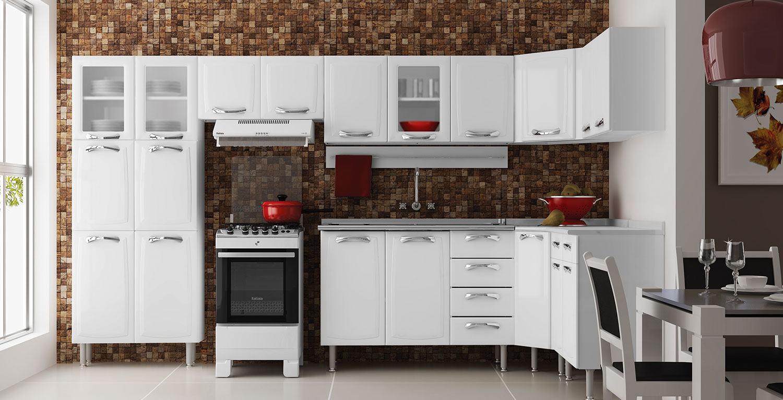 Aparador Baixo Para Sofa ~ Wibamp com Armario De Cozinha Itatiaia Aco Casas Bahia ~ Idéias do Projeto da Cozinha para a