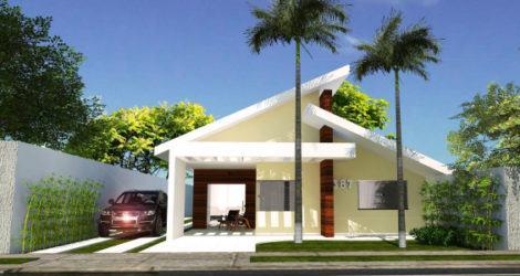imagem 11 470x250 - Ideias para Fachada residencial simples em 30 fotos