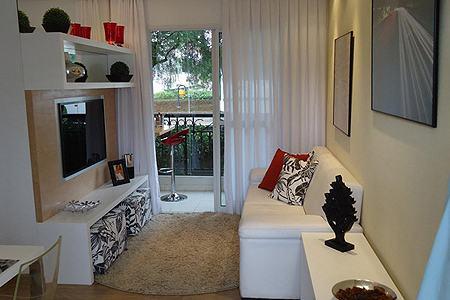imagem 21 - Modelos de Puff decorativo para sala de estar coloridos e charmosos