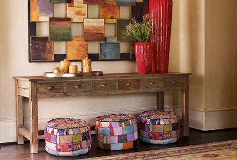 imagem 25 470x318 - Modelos de Puff decorativo para sala de estar coloridos e charmosos