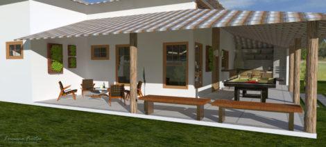 imagem 27 470x213 - Ideias para Fachada residencial simples em 30 fotos